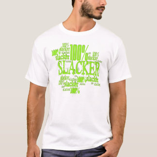 100% Slacker - EDUN LIVE Fitted T-Shirt