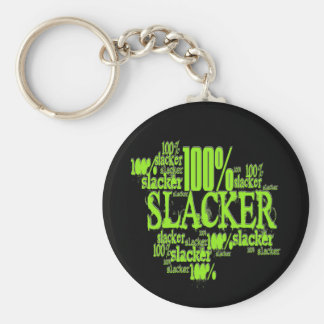 100% Slacker - Keychain