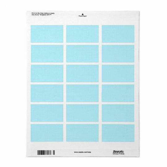 100 Slim : Artistic Soft Colours Patterns Address Label