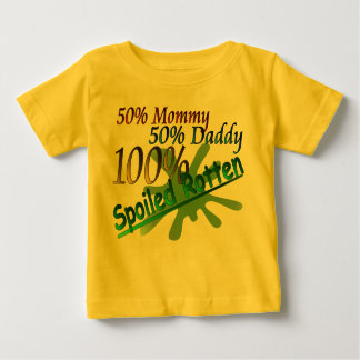 100% Spoiled Rotten Baby T-Shirt