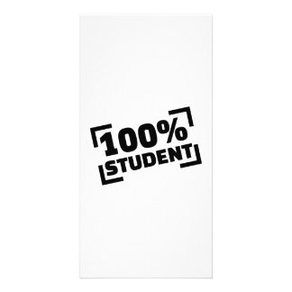 100% Student Personalised Photo Card