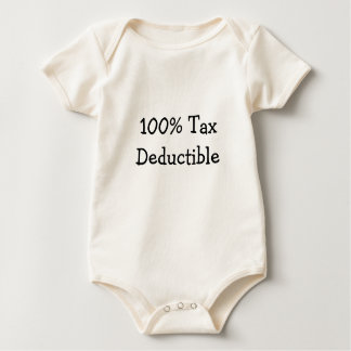 100% Tax Deductible Baby Bodysuit