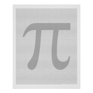 100 Thousand Pieces of Pi Poster