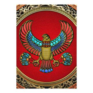 100 Treasure Trove Egyptian Falcon Custom Invitations