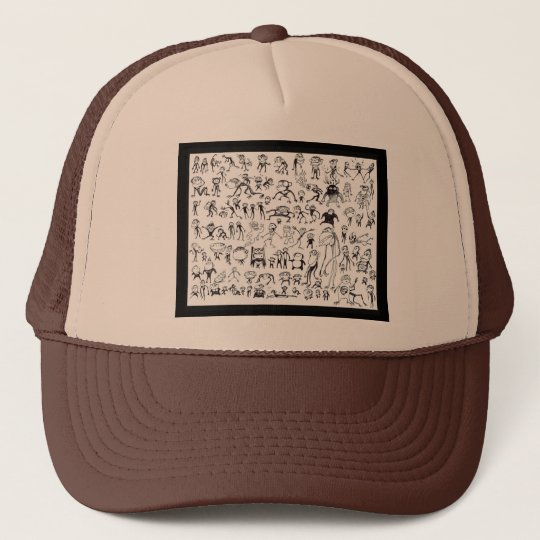 100 Ugly Monkeys (Hat) Cap