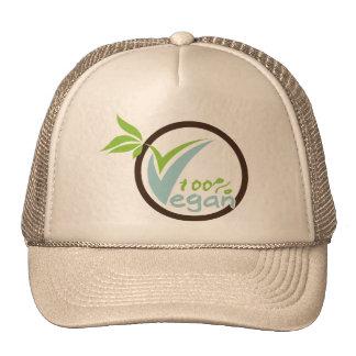 100% Vegan Hats