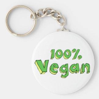 100% Vegan Key Ring