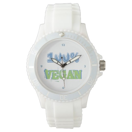 100% VEGAN -. - Wrist-watch -. - Watch