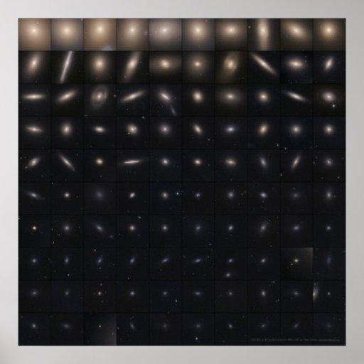100 Virgo Cluster Galaxies 24x24 (20x20) Print