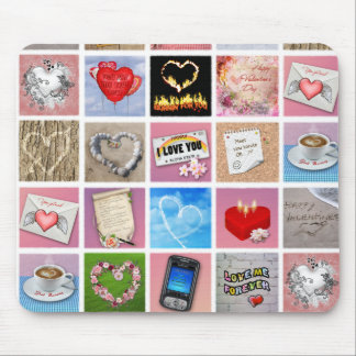 100 Ways to say I love you Mousepad