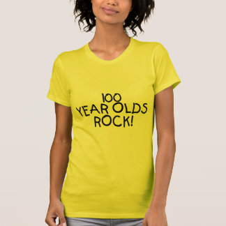 100 Year Olds Rock Tee Shirt