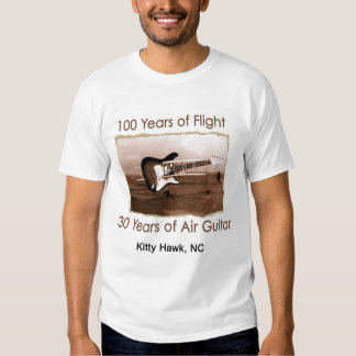 100 Years of Flight/30 Years of Air Guitar Tees