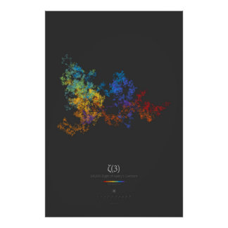 100k Digits of Apéry's Constant (dark) Poster