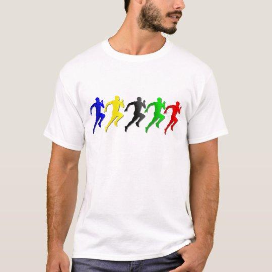 100m 200m 400m 800m Runners Running Run T-Shirt