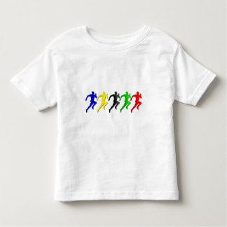 100m 200m 400m 800m Runners Running Run Toddler T-Shirt
