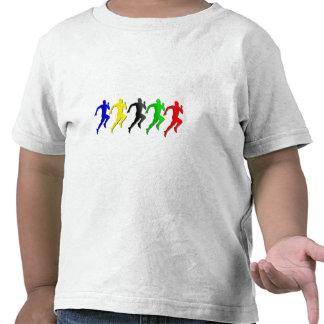 100m 200m 400m 800m Runners Running Run Tee Shirts