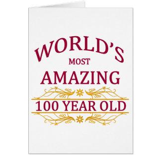 100th. Birthday Card