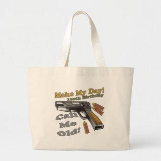 100th Birthday T-shirts and Gifts Jumbo Tote Bag