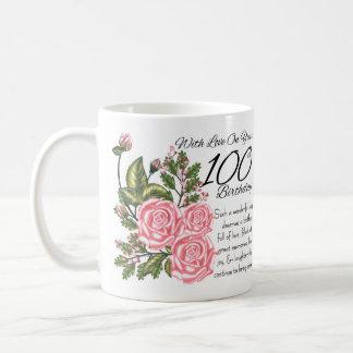 100th Birthday White 11 oz Classic White Mug