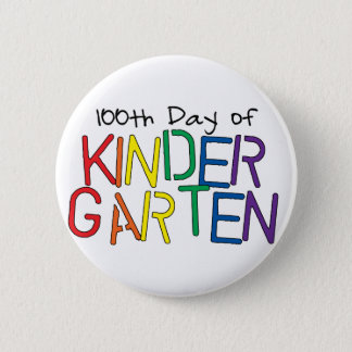 100th Day of Kindergarten Button