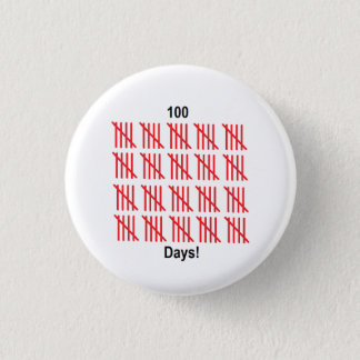 """100th Day of School"" Button"