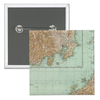 10102 Japan 15 Cm Square Badge