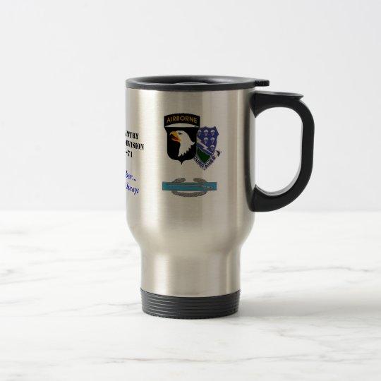 101-506, currahee seal2, cib, A Co., 1/506 Infa... Travel Mug