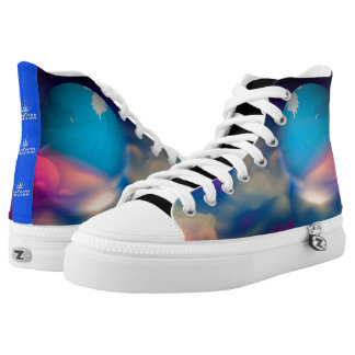 101 Abstract Galaxy's Printed Shoes