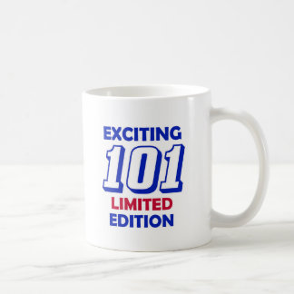 101 Birthday Design Basic White Mug