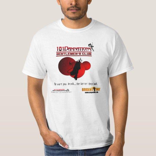 101 Damnations Gentlemen's Club - Customisable T-Shirt