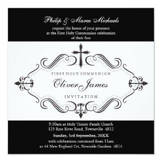 101-Denise - CHRISTENING INVITES :: viva 5SQ