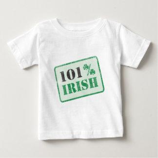 101% Irish - St. Patrick's Day Baby T-Shirt