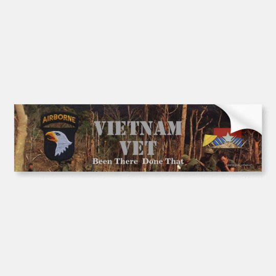 101st ABN airborne division screaming eagles Bumper Sticker