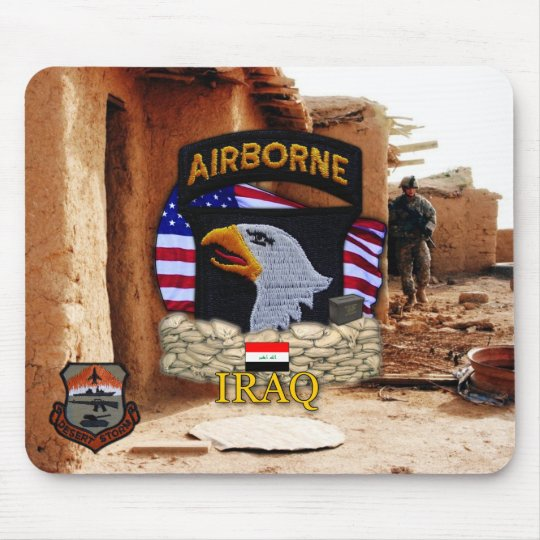 101st ABN DIV Airborne Division Screaming Eagles Mouse Mat