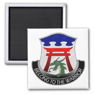 101st Airborne 3rd Special Troops Battalion Square Magnet