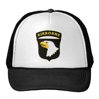 101st Airborne Div Combat Service Badge Mesh Hat