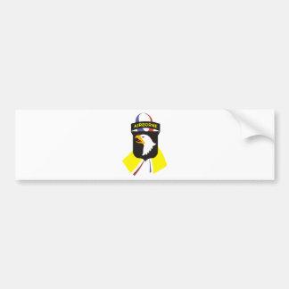 101st_Airborne_Division-1ribbon Bumper Sticker