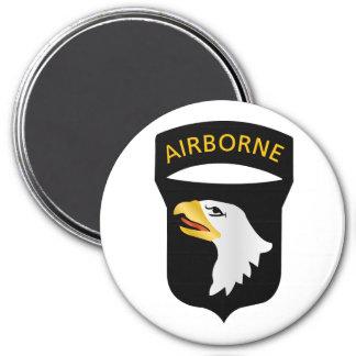 101st Airborne Division 7.5 Cm Round Magnet