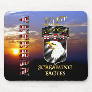 101st Airborne Division OEF Veteran Mouse Pad