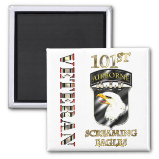 101st Airborne Division OIF Veteran Magnets