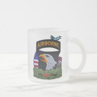 101st airborne division patch frosty Mug