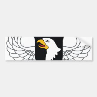 "101st Airborne Division ""Screaming Eagles"" Bumper Sticker"