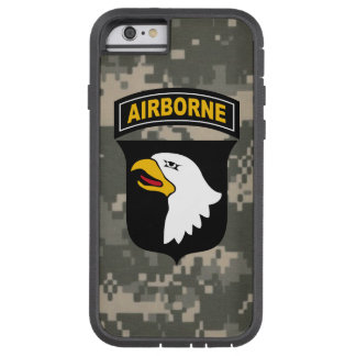 """101st Airborne Division """"Screaming Eagles"""" Camo Tough Xtreme iPhone 6 Case"""