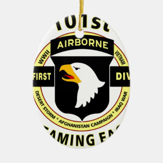 """101ST AIRBORNE DIVISION """"SCREAMING EAGLES"""" CHRISTMAS ORNAMENT"""