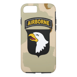 """101st Airborne Division """"Screaming Eagles"""" iPhone 7 Case"""