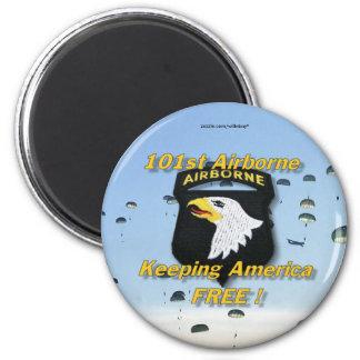 101st airborne division veterans vets Magnet Fridge Magnets
