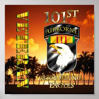101st Airborne Division Vietnam Veteran Poster