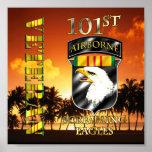 101st Airborne Division Vietnam Veteran Print