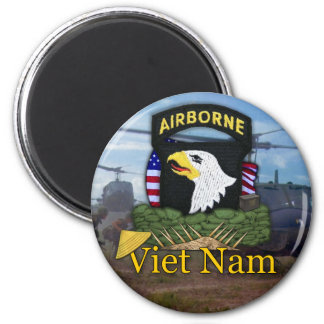 101st airborne division vietnam vets Magnet