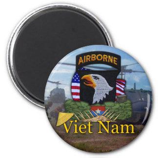 101st airborne division vietnam vets Magnet Fridge Magnet